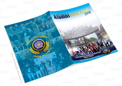 School Alumnie association magazine designing and printing