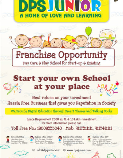 play-school-franchise-newspaper-full-page-advertisement-designer-in-patna-bihar