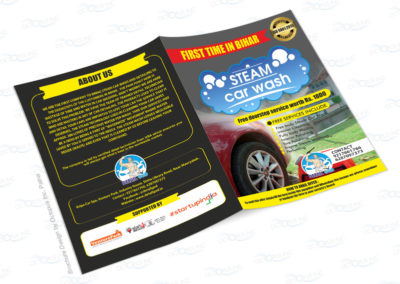 steam-car-wash-brochure-designing-and-printing-in-patna-bihar-india