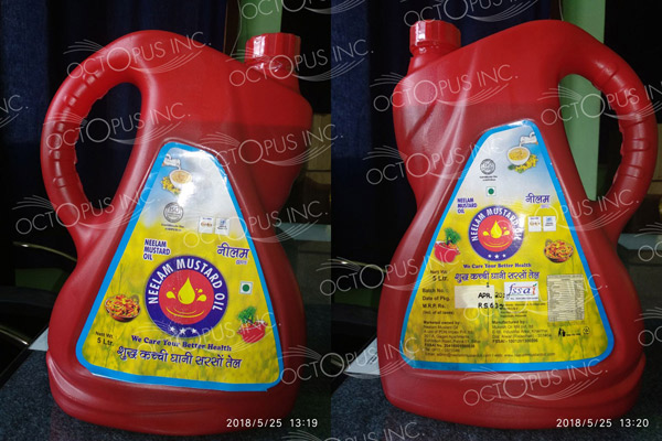 mustard-oil-plastic-container-sticker-designing-and-printing-in-patna-bihar